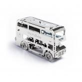 Bouwpakket Cute Double Decker van metaal- Mechanisch