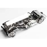 Bouwpakket Glorious Cabrio van metaal- Mechanisch