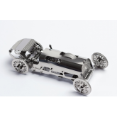 Bouwpakket Tiny Sports Car van metaal- Mechanisch