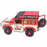 Bouwpakket Jeep- kleur