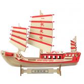 Bouwpakket Zeilschip Tweemaster- kleur