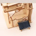 Bouwpakket Knikkerbaan Kasteel Hybride op Zonne-energie/batterij- hout
