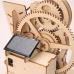 Bouwpakket Knikkerbaan S- Lift Hybride op Zonne-energie/batterij- hout