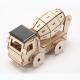 Bouwpakket Betonmortel op Zonne-energie- hout