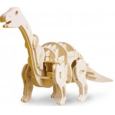 Bouwpakket Apatosaurus met geluidscontrole