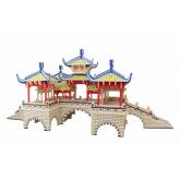 Bouwpakket Chinese Brug met Vijf Paviljoenen