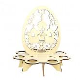 Bouwpakket Eierenplateau van hout