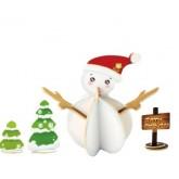 Bouwpakket Sneeuwpop gekleurd