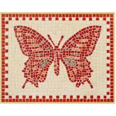 Mozaïek Vlinder- Steen