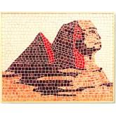 Mozaïek Piramide Egypte- Steen