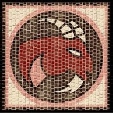 Mozaïek Sterrenbeeld Steenbok- Steen