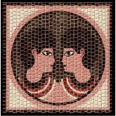 Mozaïek Sterrenbeeld Tweelingen- Steen