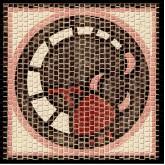 Mozaïek Sterrenbeeld Schorpioen- Steen