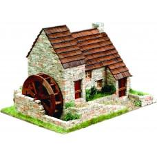 Bouwpakket Engels huisje met Watermolen- Steen