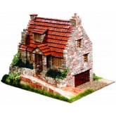 Bouwpakket traditioneel Huis- Steen