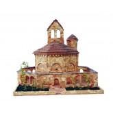 Bouwpakket Kerk Santa Maria de Eunate(Spanje)- Steen
