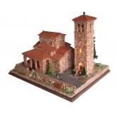 Bouwpakket Kerk Santa Maria de Lebena(Spanje)- Steen