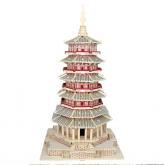 Bouwpakket Fogong Temple Buddha Tower (China)