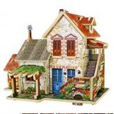 Bouwpakket Frans Huis, gekleurd