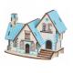 Bouwpakket Villa Blauw- klein