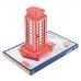 Bouwpakket Britse Telefooncel- kleur