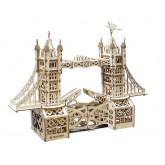 Bouwpakket Tower Bridge Klein Mechanisch- hout