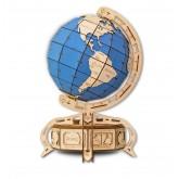 Bouwpakket Globe Mechanisch groot- blauw