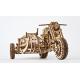 Bouwpakket Motor met Zijspan- Mechanisch
