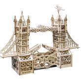 Bouwpakket Tower Bridge Groot Mechanisch- hout