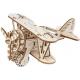 Bouwpakket Vliegtuig- Biplane- Mechanisch
