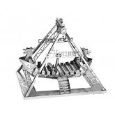 Bouwpakket Vikingschip/Schommelschip - metaal