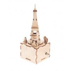 Bouwpakket Muziekdoosje Eiffeltoren