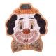 Mozaïek Clown Clownsgezicht- Steen
