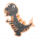 Mozaïek Dino Dinosaurus Stegoaurus- Steen