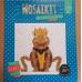 Mozaïek Kikker Mozaïkit- Steen 17 x 17 cm
