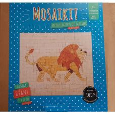 Mozaïek Leeuw Mozaïkit- Steen 17 x  20 cm