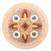Mozaïek Mandala Medallion nr. 14- Steen