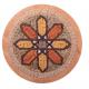 Mozaïek Mandala Medallion nr. 9- Steen