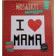 Mozaïek 'I Love Mama' Mozaïkit- Steen 20 x 20 cm