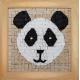 Mozaïek Panda- Steen