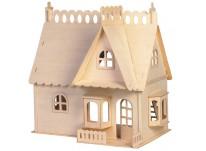 Bouwpakket Poppenhuis 'Huis met Dakkapel'