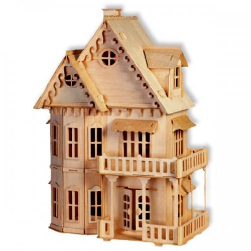 bouwpakket poppenhuis 39 gotisch huis 39