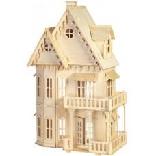 Bouwpakket Poppenhuis 'Gotisch Huis' 1:24