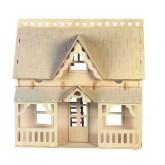 Bouwpakket Poppenhuis 'Huis met Veranda' - B- keuze (003-1)