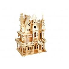 Bouwpakket Poppenhuis 'Villa Fantasia'-  klein 1:36