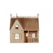Bouwpakket Poppenhuis 'Droomhuis'-  klein 1:24