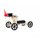 Bouwpakket Auto op Windkracht- Science Kit