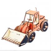 Bouwpakket Bulldozer- kleur