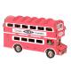 Bouwpakket Engelse Dubbeldekkerbus- kleur