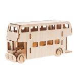 Bouwpakket Dubbeldekker Bus- klein
